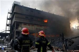 تلفات آتش سوزی در بنگلادش به 24 نفر رسید/تصاویر