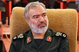 بازدید سردار فدوی از مرکز اسناد و تحقیقات دفاع مقدس