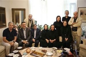علی جنتی و حجتالله ایوبی به دیدن اصغر شاهوردی و خانواده  رشیدی  رفتند/عکس