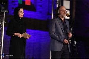 ویدئو/ شوخی مریلا زارعی حین اعلام نام پیمان معادی بعنوان بازیگر نقش اول مرد در جشن خانه سینما