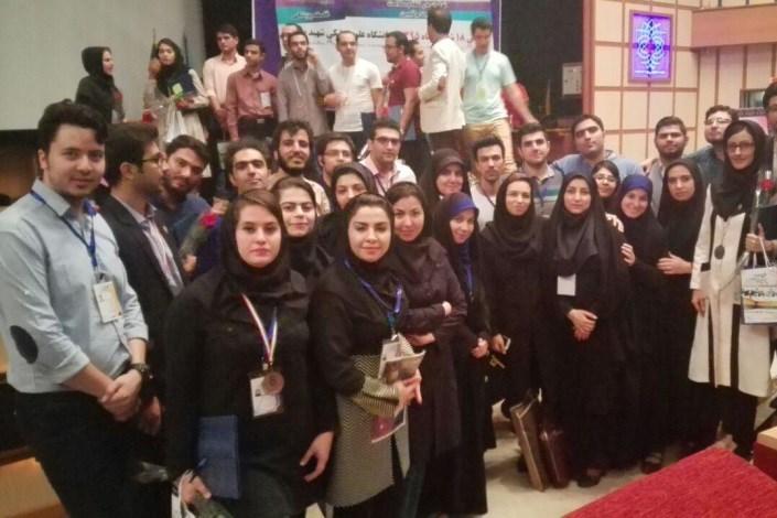 تیم دانشگاه آزاد اسلامی در هشتمین المپیاد علمی دانشجویان علوم پزشکی