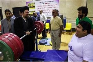 تبریک سید حسن خمینی به مناسبت قهرمانی سیامند رحمان در پارالمپیک
