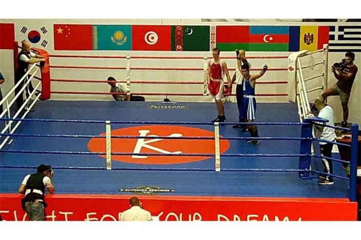 مسابقات بین المللی بوکس جام برادران کلیچکو/یوسفی مدال برنز خود را قطعی کرد