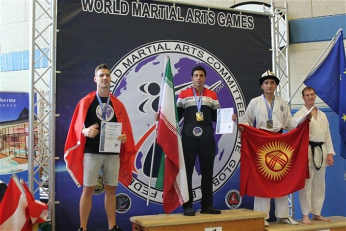 Student of Kerman IAU Becomes Champion in 2016 WMAC