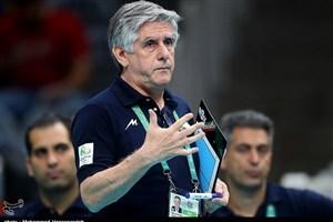 لوزانو: مذاکرهای با فدراسیون والیبال لهستان نکرده