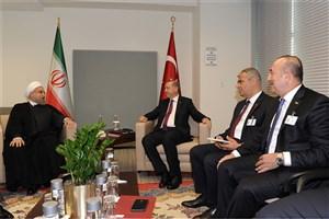 روحانی و اردوغان دیدار کردند