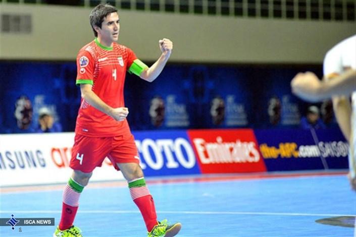 محمد کشاورز-کاپیتان تیم ملی فوتسال