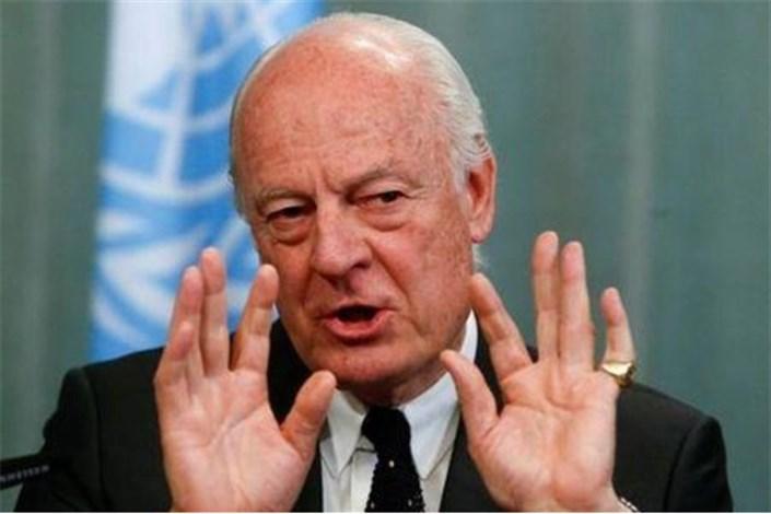 دی میستورا دعوت به شرکت در مذاکرات صلح آستانه را پذیرفت