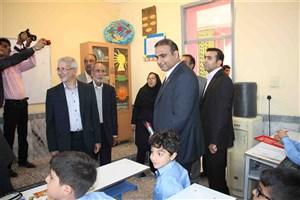 افتتاح 650 متر مربع فضای آموزشی و پژوهشی در دبستان پسرانه سما بندرعباس