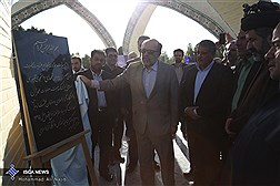 بنای یادمان شهدای دانشجو در بهشت زهرا (س) افتتاح شد