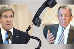 گفت و گوی تلفنی کری و لاوروف با محوریت طرح صلحی برای سوریه