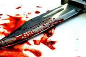 قتل همسایه با پرتاب  چاقو