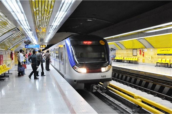تکذیب خبر آتش سوزی خط 4 مترو