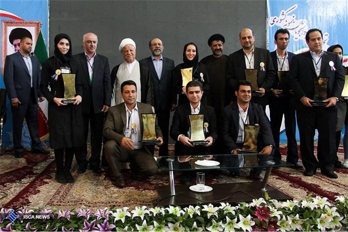 افتتاح پژوهشگاه مرکزی واحد تهران شمال با حضور آیت الله هاشمی رفسنجانی