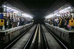 یک حادثه دیگر در مترو/ مرگ مرد ۶۵ساله در تصادف با قطار در ایستگاه میدان شهدا