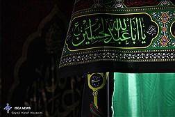 مراسم باشکوه برافراشته پرچم عزای حسینی در چرام / زمان  و مکان