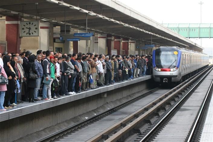 خودکشی در مترو