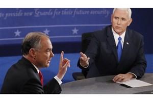 در اولین مناظره انتخاباتی معاونان نامزدهای انتخابات ریاست جمهوری آمریکا چه گذشت؟