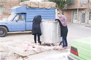 آسیب جدید تهران، زنان زباله گرد! /یک زن زبالهگرد:شهرداری  نمی گذارد روزها کار کنیم/ عکس