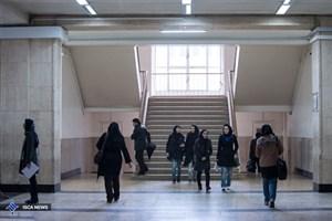 مهر اعتراض دانشجویان بر سر در دانشگاه ها