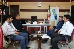 نشست مشترک رئیس واحد جویبار با رئیس شرکت توزیع نیروی برق شهرستان