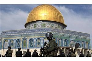 استقرار نظامیان صهیونیست در صحن های مسجد الاقصی