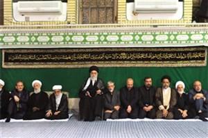 دومین شب با حضور مقام معظم رهبری مراسم عزاداری حضرت اباعبدالله الحسین(ع) برگزار شد