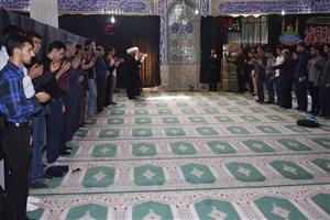 ده روز عزایسالار شهیدان در دانشگاه آزاد اسلامی شهرضا