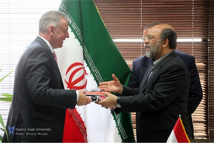 IAU President  Meets with Austrian Ambassador in Iran / IAU & Austria's Universities to Develop Academic Cooperation