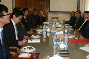 دیدار رئیس بنیاد مطالعات پیشرفته کره جنوبی با رئیس دانشگاه تهران