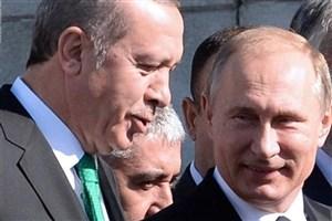 موافقت پوتین و اردوغان برای همکاری های بیشتر در سوریه