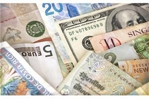 افت قیمت دلار و پوند و تقویت یورو بانکی