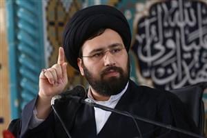 عیادت حجت الاسلام سید علی خمینی از آیت الله موسوی اردبیلی