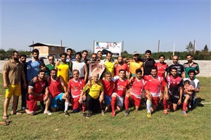 افتتاح زمین هادی نوروزی در کپورچال