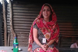 از دکتر ظریف بخاطر پاسپورت ایرانی ام، تشکر می کنم / من مادر کودکان یتیم هند هستم!