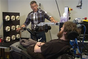 Brain-Implanted Device Restores Sense of Touch of a Spinal Cord Injured man