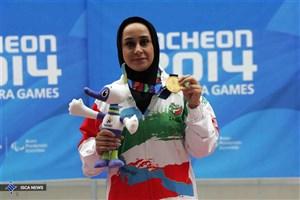 جوانمردی نامزد برترین ورزشکار زن ماه سپتامبر