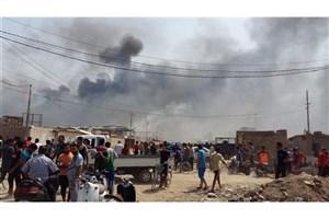 دو انفجار تروریستی در شهر بغداد