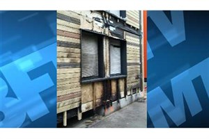 آتش سوزی در مرکز اسکان بی خانمان ها در پاریس