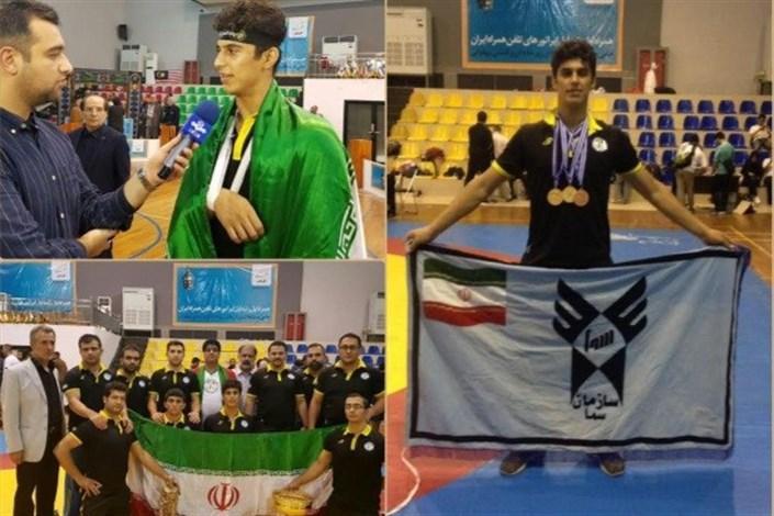 Sanandaj SAMA IAU becomes Champion in World Pahlavani Wrestling Games