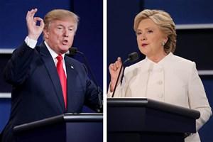 یادداشتهای مبارزاتی ترامپ و کلینتون در روزنامه یو اس ای تودی