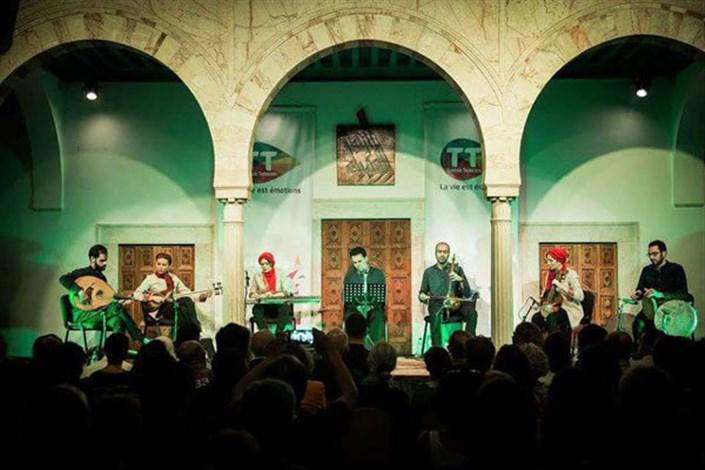 علاقمندان موسیقی دنیا به تماشای گروه تهران آنسامبل نشستند