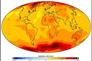 سال 2016 گرم ترین سال جهانی ثبت می شود