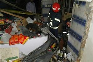 برج تجاری مسکونی در بلوار آفریقا آتش گرفت