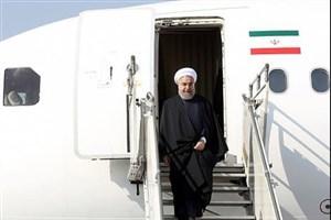 رئیس جمهوری وارد کویت شد