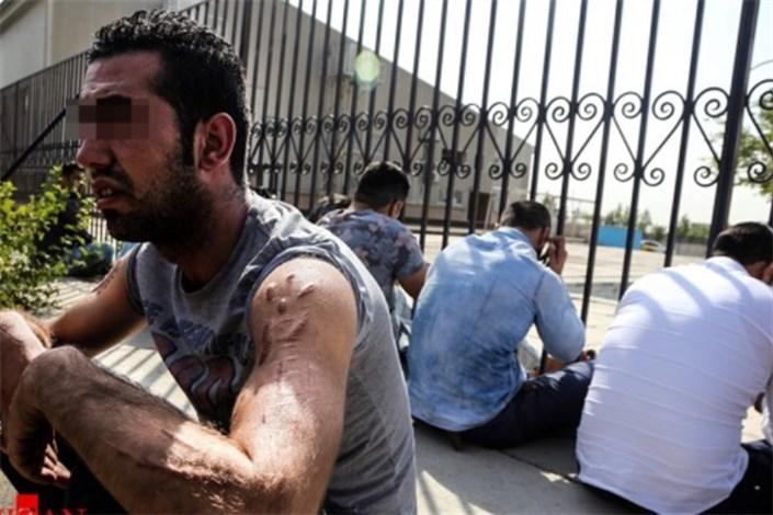 دستگیری 120 اراذل و اوباش  درتهران