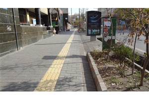 مناسب سازی پیاده رو ها و 35 هزار متر طول خط کشی ترافیکی در منطقه 13