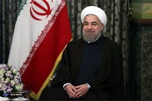 استقبال رسمی روحانی از رییس جمهوری فنلاند