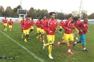 لشگر غایبان دایی مقابل سپاهان در جام حذفی