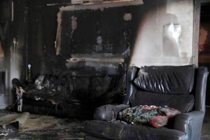 آتش سوزی در سعادتآباد